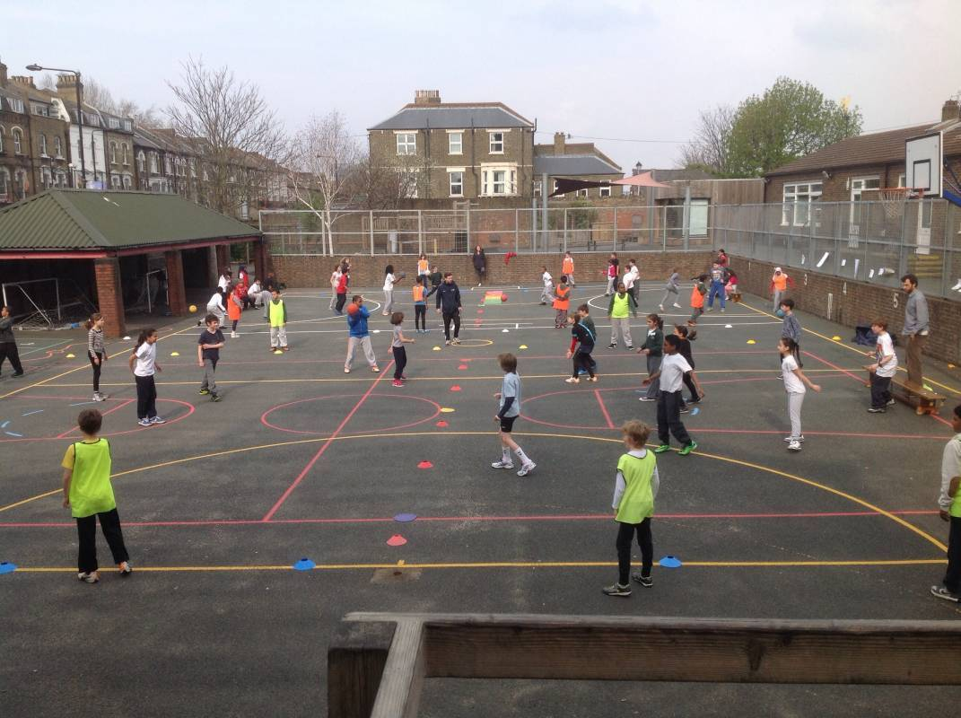 year 5 community sports day