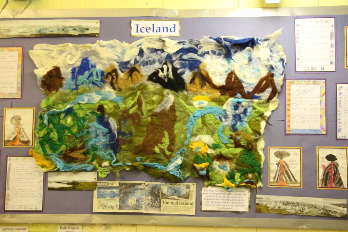School Displays - Spring term 2013 - Eleanor Palmer ...
