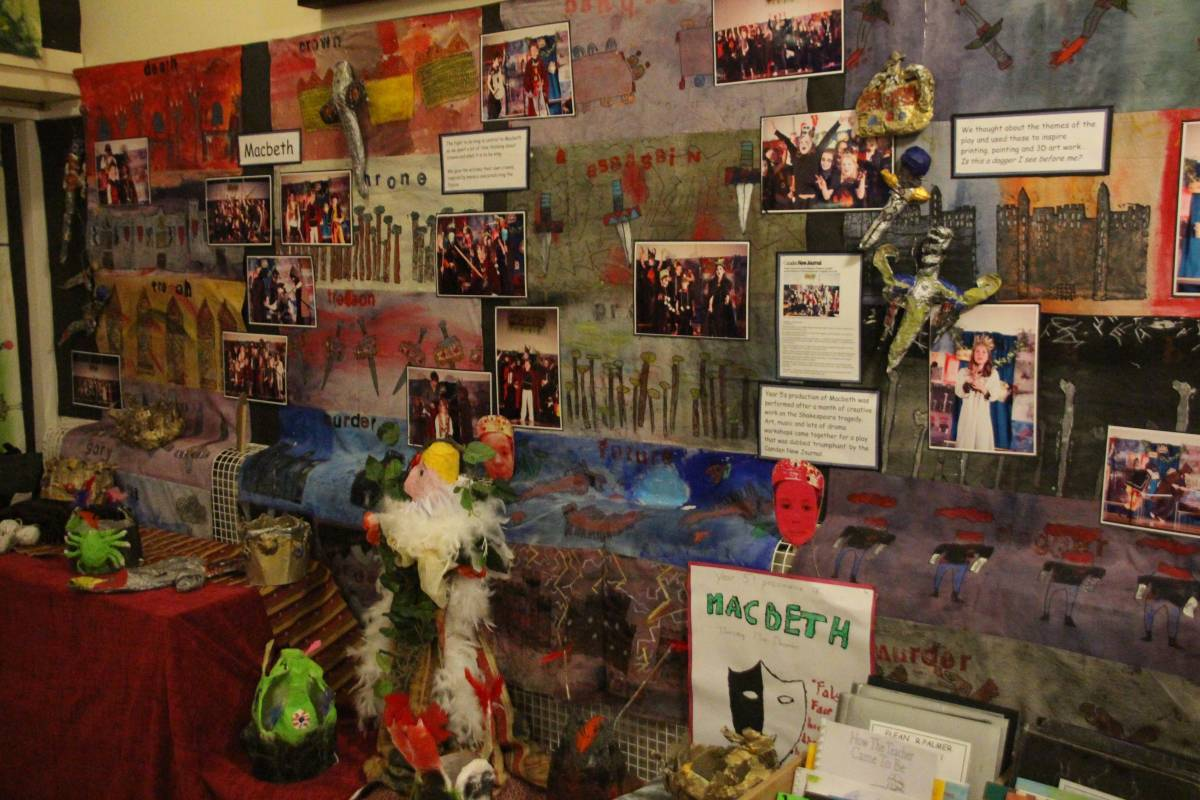 school displays - spring term 2013