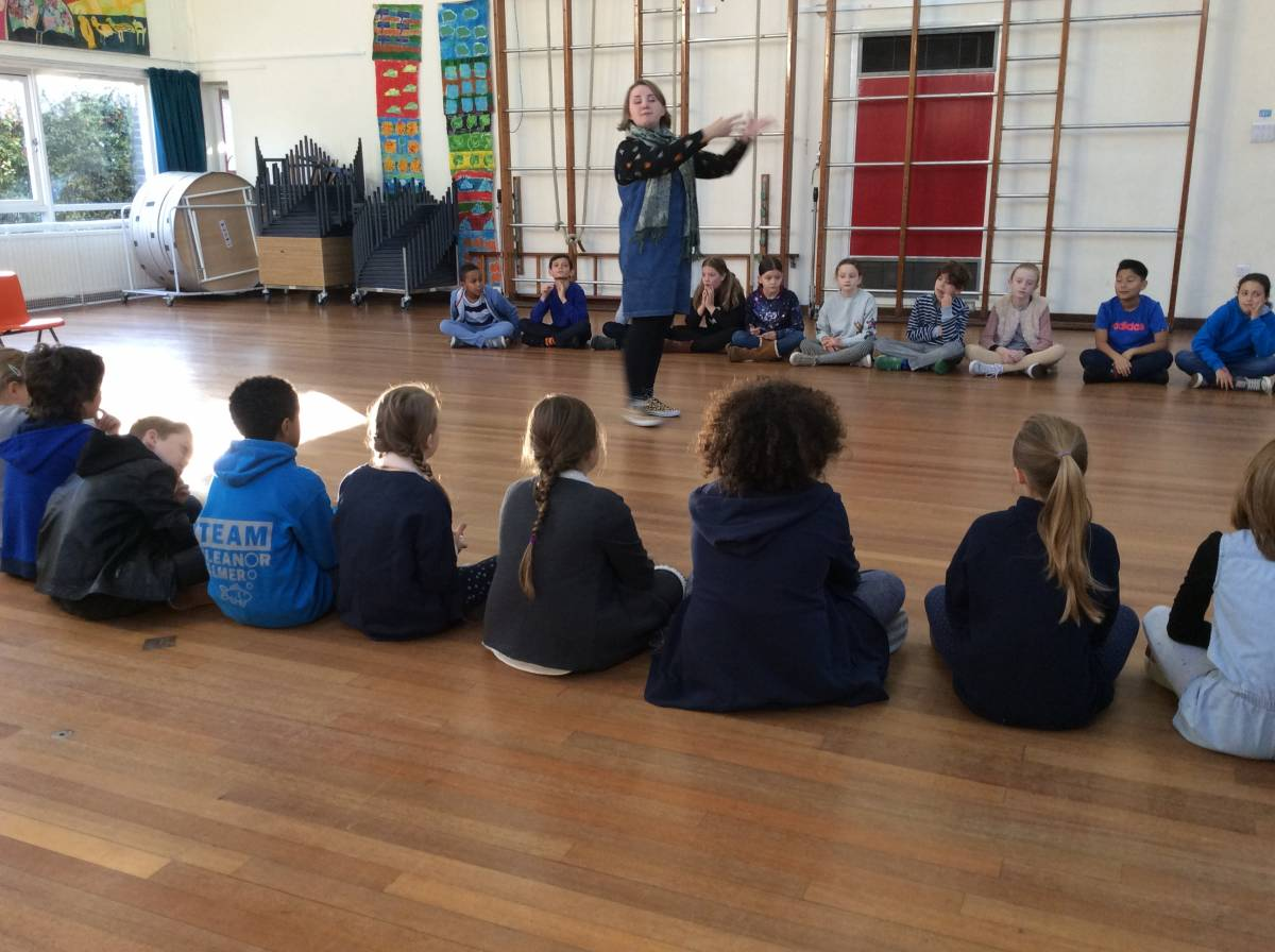 young shakespeare company visit year 5