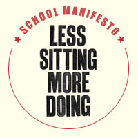 Less Sitting More Doing