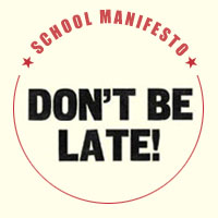 Don't Be Late!