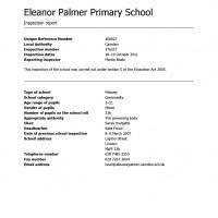 School inspection handbook