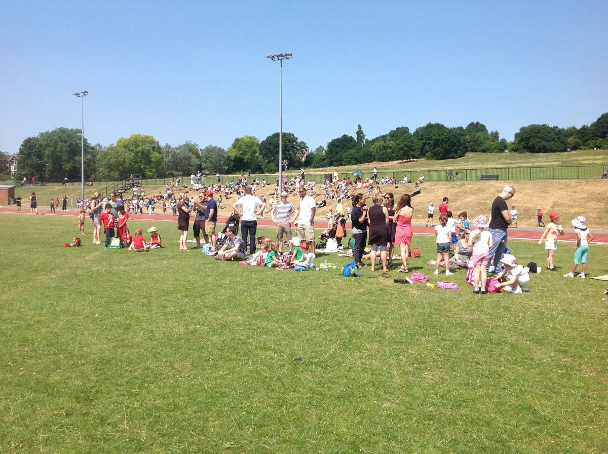 Year 2 Sports Day Fun Eleanor Palmer Primary School