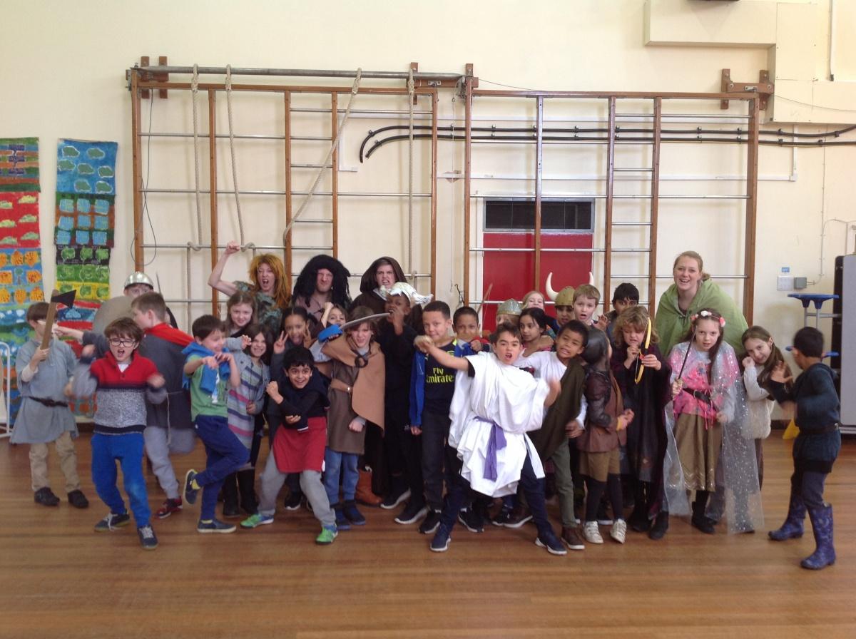 Vikings invade EP! - Eleanor Palmer Primary School